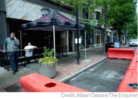 Cincinnati's expanded street