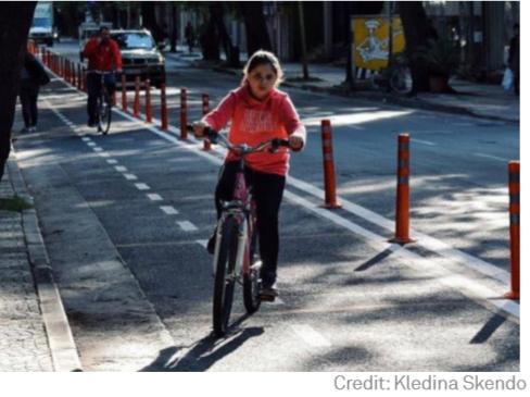 Tirana bike lanes