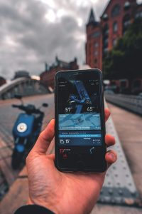 NIU slimme scooter app