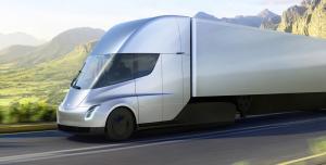 tesla semi electric truck