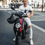 MQi+ Sport Black w/Red Stripes