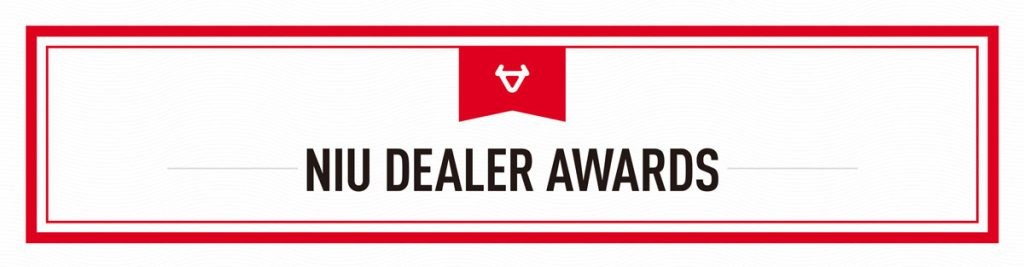 NIU Dealer Awards banner