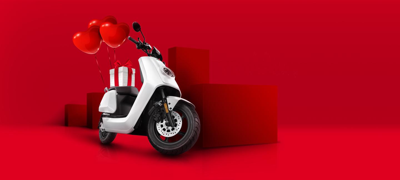 NIU scooter Valentijnsdag cadeau