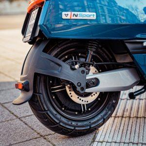 Los scooters eléctricos NIU utilizan un motor Bosch hecho a medida