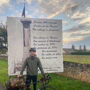Jean-Baptiste's travels have taken him all around France