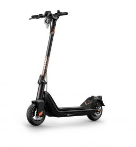 NIU Kick Scooter Pro in Rose Gold color