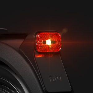 NIU KQi3 bright brake light