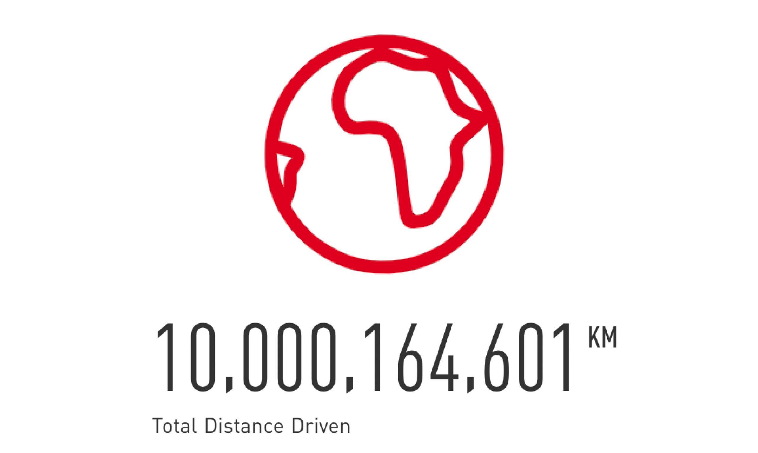 10 billion km counter